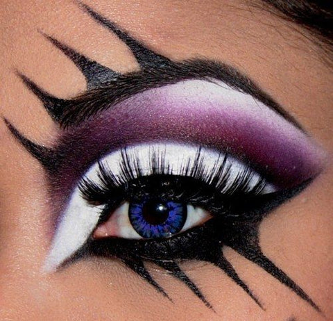 Shewolf Halloween eye makeup
