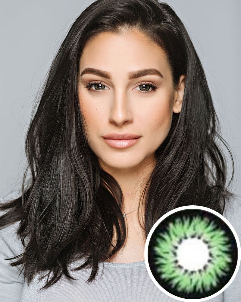 Geo xtra Aster Green Circle Lens WTC13