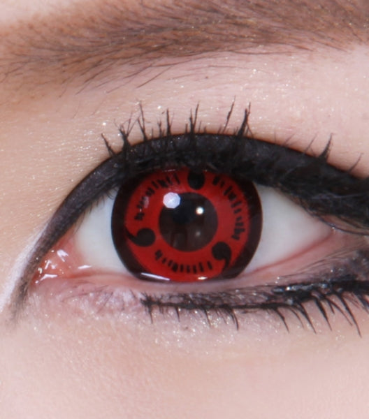 Uchiha Sharingan Contacts Fully Activated CP-S1 - CircleLensesUSA.com