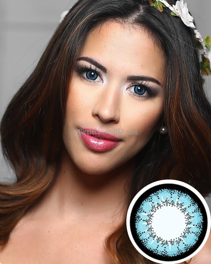 Geo Super Angel Blue Circle Lens XCM212 - CircleLensesUSA.com