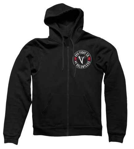 VVV Zip Competition Hoodie (Black)