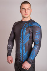 Blue Belt Ranked Rashguard | VVV Rashguard