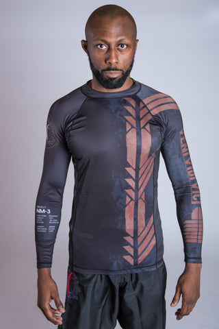 Brown Belt Ranked Rashguard