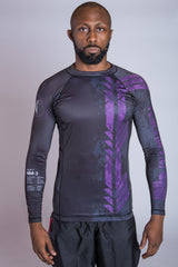 Purple Belt Ranked Rashguard