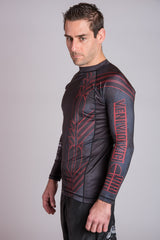 Black Belt BJJ Ranked Rashguard | VVV Rashguard