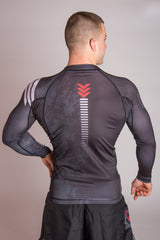 White Belt Ranked Rashguard