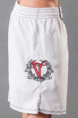 MMA Shorts | Grappling Shorts | VVV White
