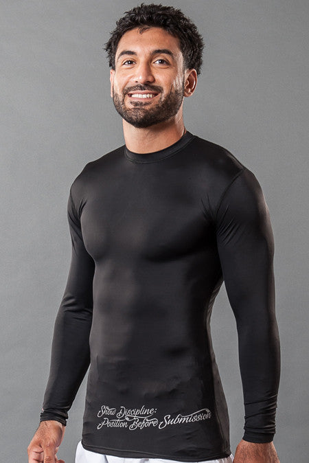 "VVV Rashguard Black ""The Classic"""