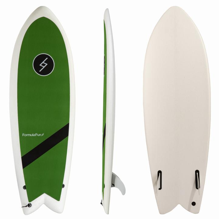 "Formula Fun  5' 3""  Mint Chip Soft Top "" *Available In Store Pick Up Only"