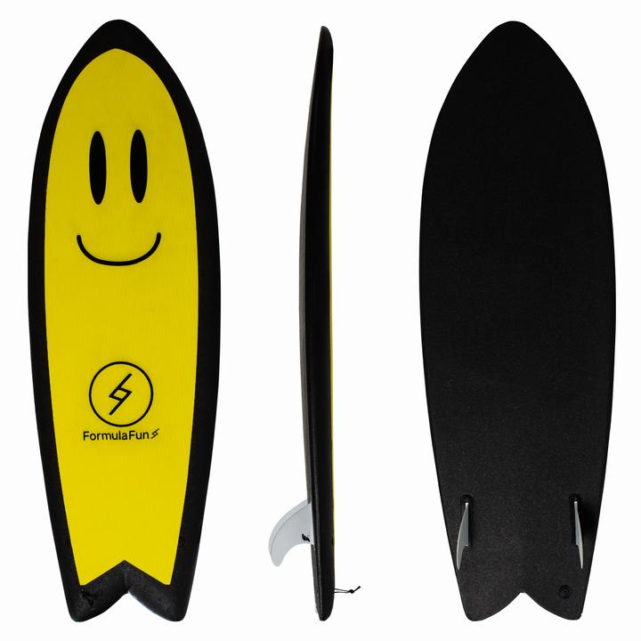 "Formula Fun  5' 3"" Smiley Face Soft Top "" *Available In Store Pick Up Only"