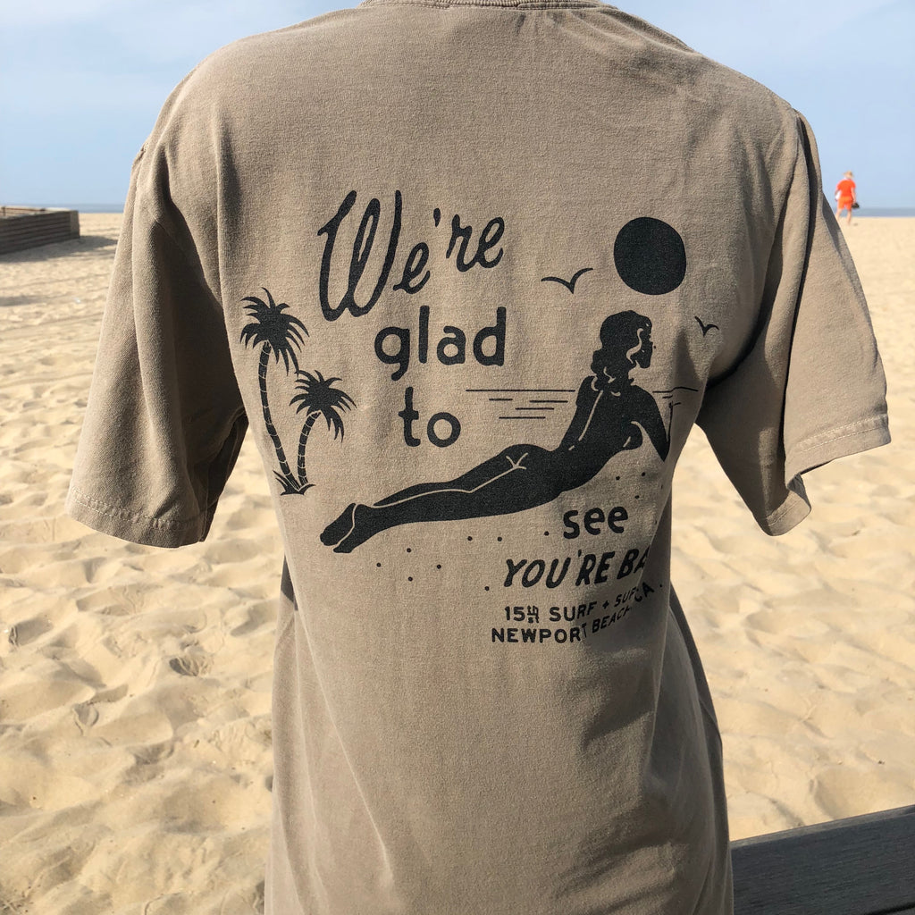 15th St Men's We're Glad To See You're Back T-Shirt