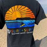 15th Sunset Tee- Black