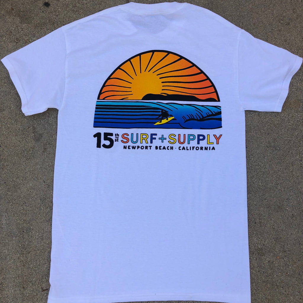 15th St Men's Sunset Tee