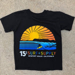 15th St Kids Sunset T-Shirt