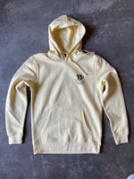15th St Men's We're Glad To See Your Back Hooded Pullover Fleece SUNSET YELLOW