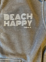 Beach Happy Zip Sweatshirt DARK ASH HEATHER