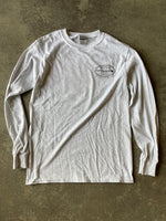 15th St Men's Old School Long Sleeve T-Shirt HEATHER GREY