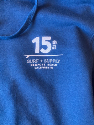 15th St Men's No Black Ball Pullover Hoodie - King Neptune Blue
