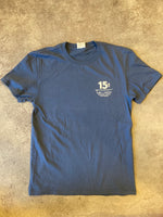 15th St Men's  Glad To See You're Short Sleeve T-Shirt Vintage Navy