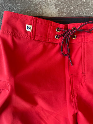 "15th St Boardshorts 18"" Lifeguard Red"