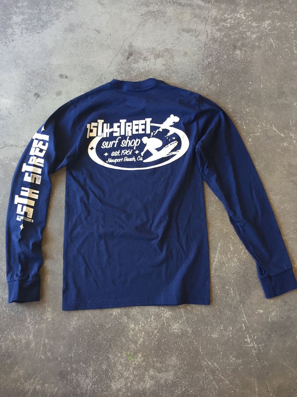 15th St Men's Since 61  Long Sleeve T-Shirt
