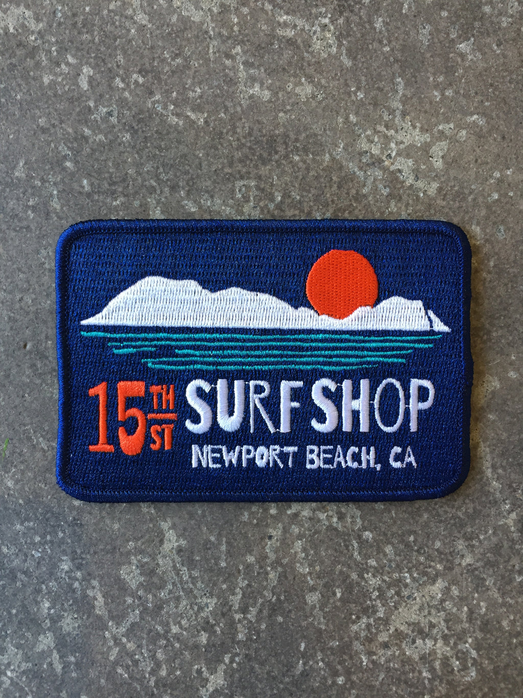 15th St Surf Shop Patch