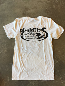 15th St Men's Since 1961 Short Sleeve T-Shirt WHITE