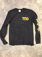 15th St Men's Since 61  Long Sleeve T-Shirt BLACK WITH GOLD