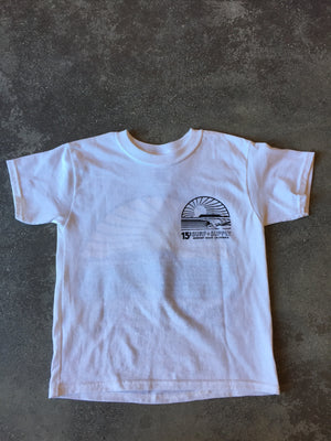 15th St KIDS Sunset Short Sleeve T-Shirt NEON POP