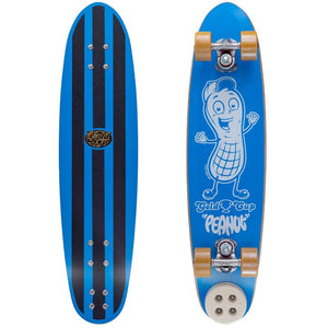 Gold Cup Peanut Skateboard BLUE