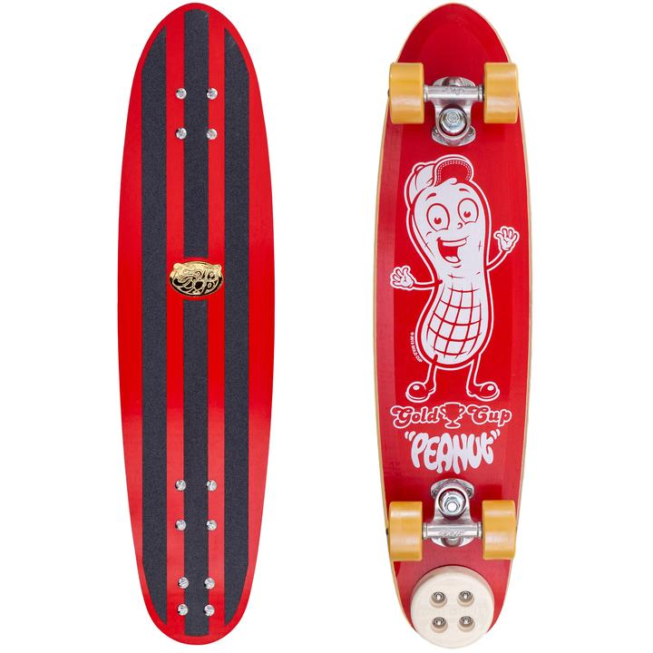 Gold Cup Peanut Skateboard RED