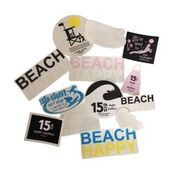 Beach Happy Stickers!