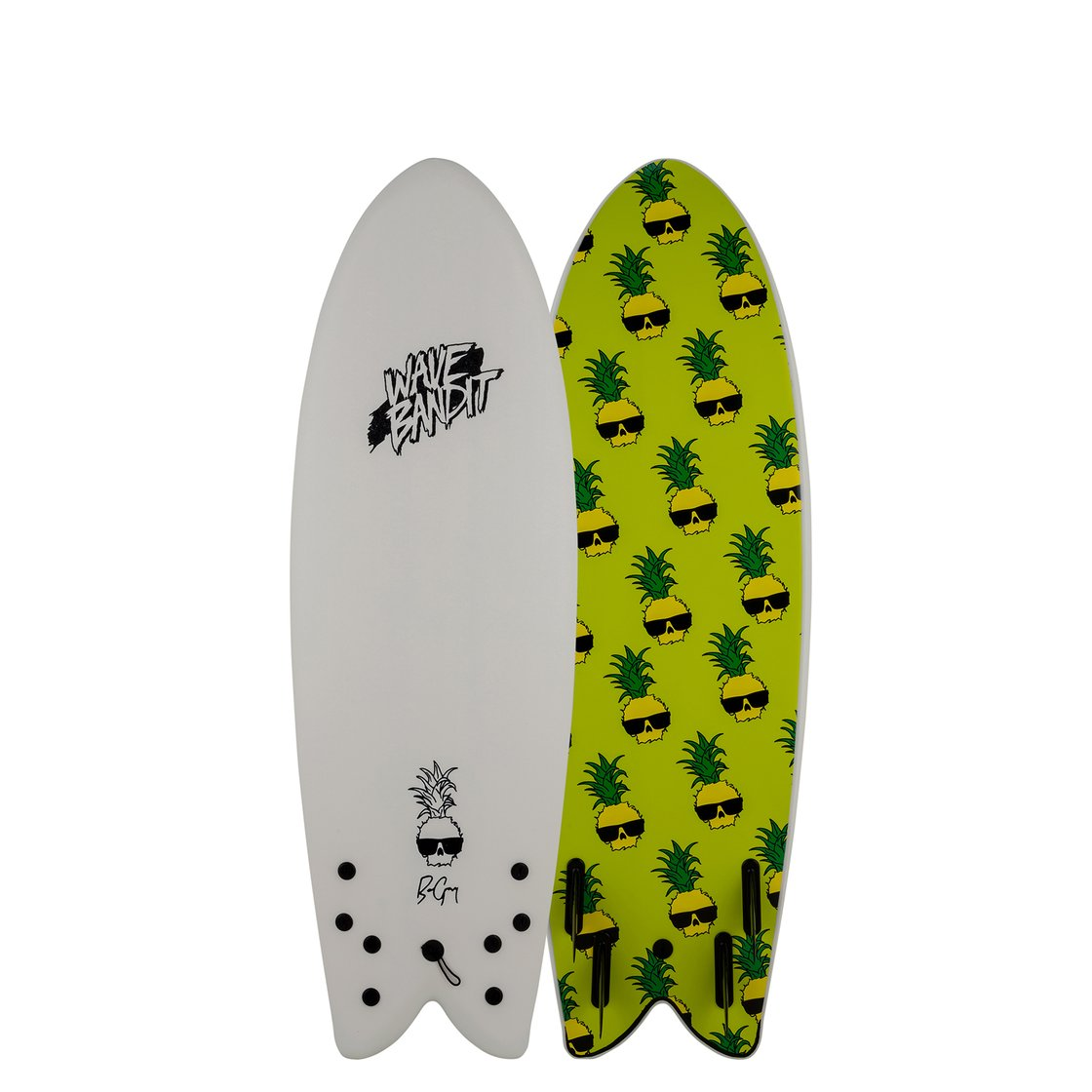 Wave Bandit Ben Gravy Retro Fish 5' 8""