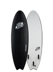"Wave Bandit Performer 6' 0""  Tri Fin Black"