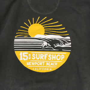 15th St Men's Sunset Logo 2- Color Crewneck Fleece