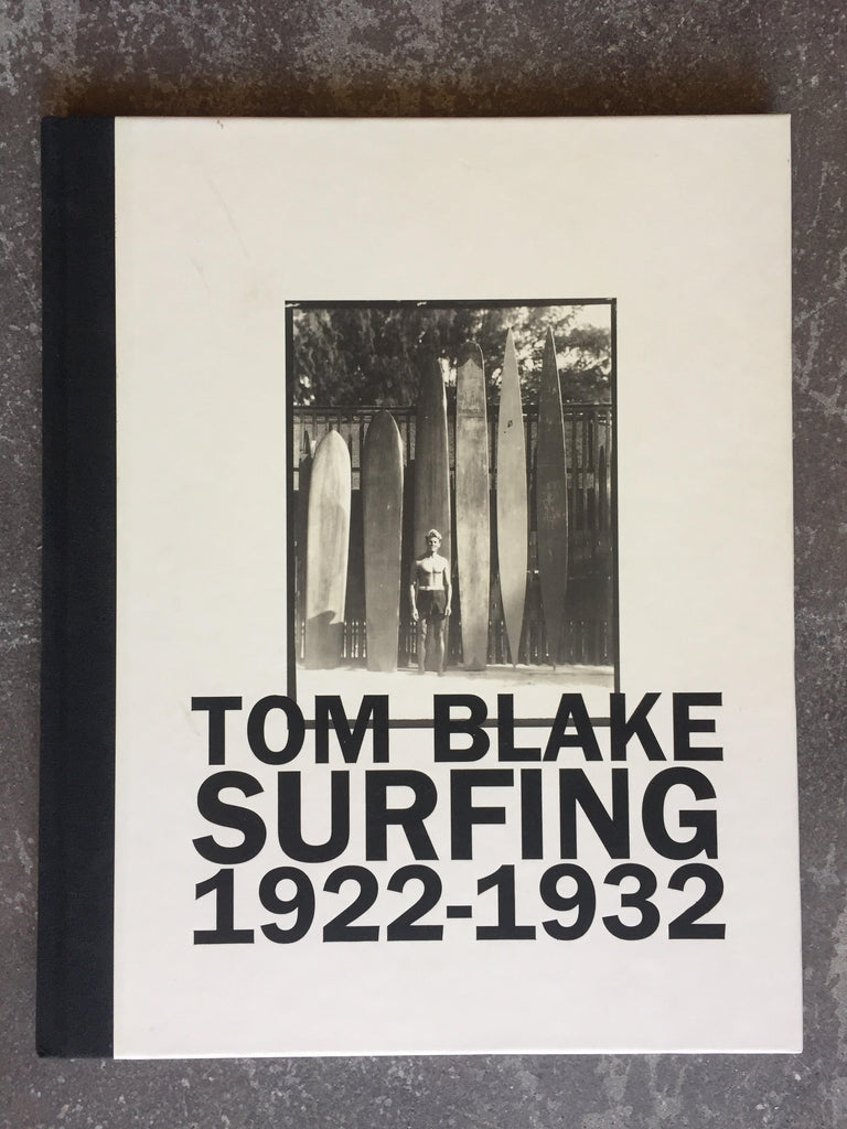 Book Tom Blake Surfing 1922-1932