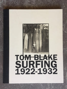 Book Tom Blake Surfing 1922-1932 Book