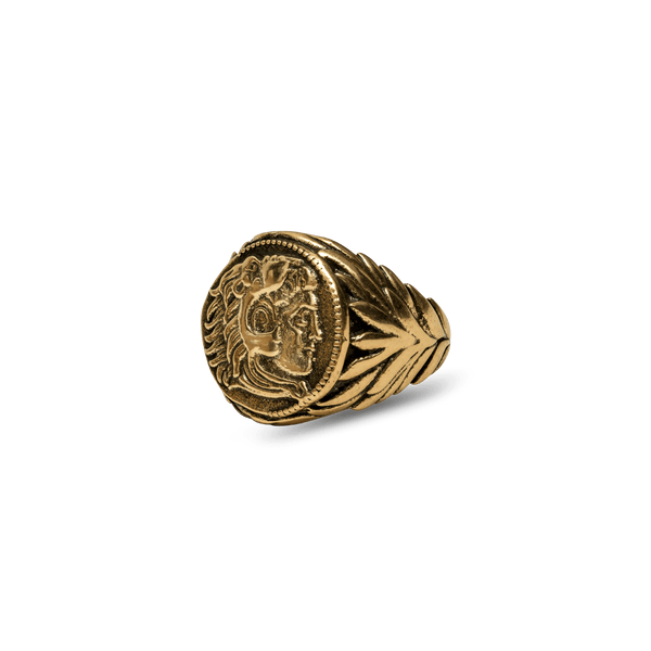 Alexander The Great Ring - Ancient Gold