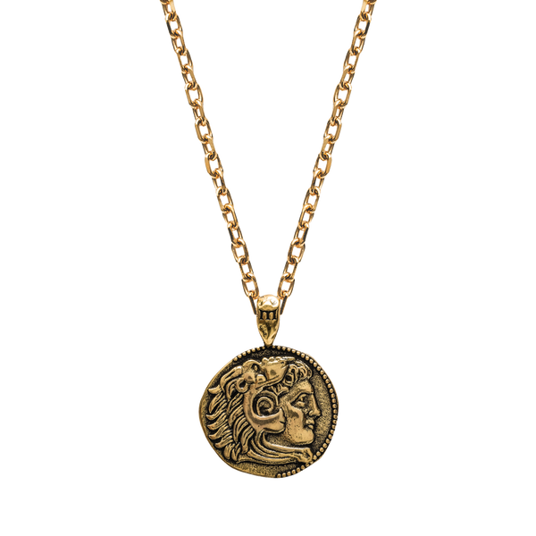 Alexander The Great Necklace - Ancient Gold - Marcozo