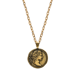 Augustus Necklace - Ancient Gold - Marcozo