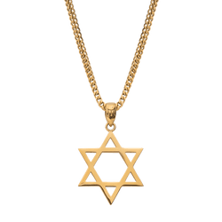 Star of David - Gold - Marcozo