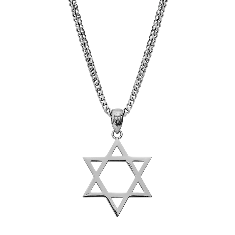Star of David - White Gold - Marcozo