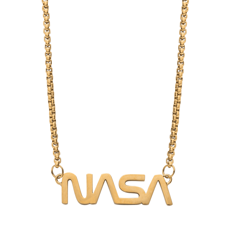 NASA Necklace - Gold - Marcozo