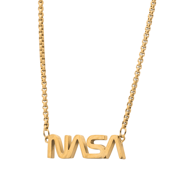 NASA Necklace - Gold