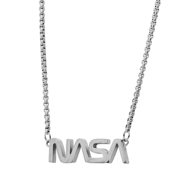 NASA Necklace - White Gold