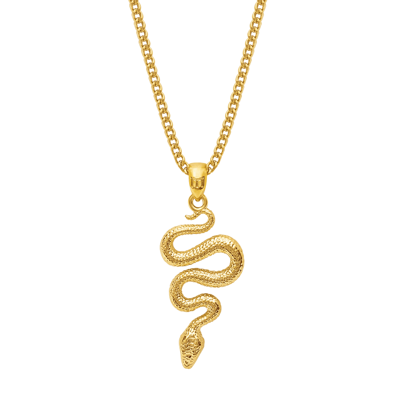 Serpent Necklace - Gold