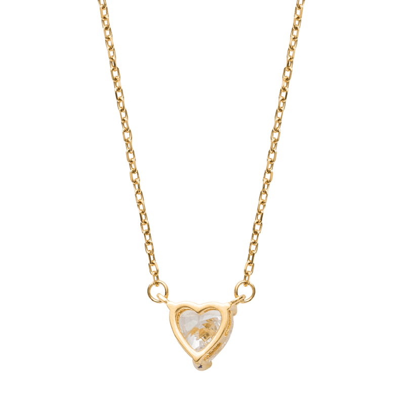 Heart Necklace - Gold - Marcozo