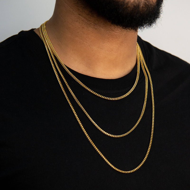 Franco Chain - Gold - Marcozo