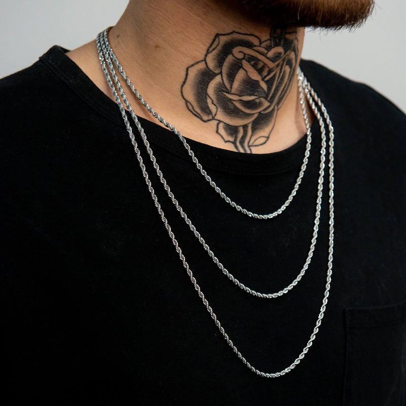 Rope Chain - White Gold - Marcozo