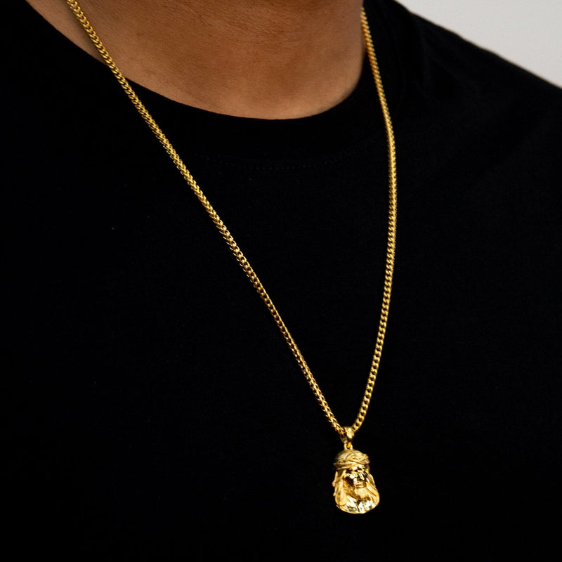Jesus Necklace - Gold - Marcozo